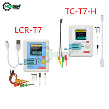 LCR-T7 TC-T7-H LCR-TC1 Multifunktionale Diode Triode Kapazität Meter ESR TFT Hintergrundbeleuchtung Transistor Tester LCR Meter Multimeter