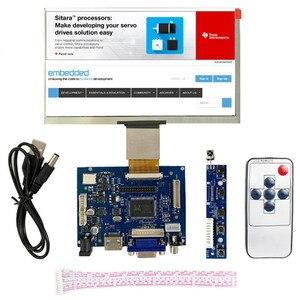 Nuevo módulo de pantalla LCD de 7 pulgadas 10,1 pulgadas Monitor de pantalla 1024x600 con HDMI + VGA + 2AV Placa de controlador para Raspberry Pi