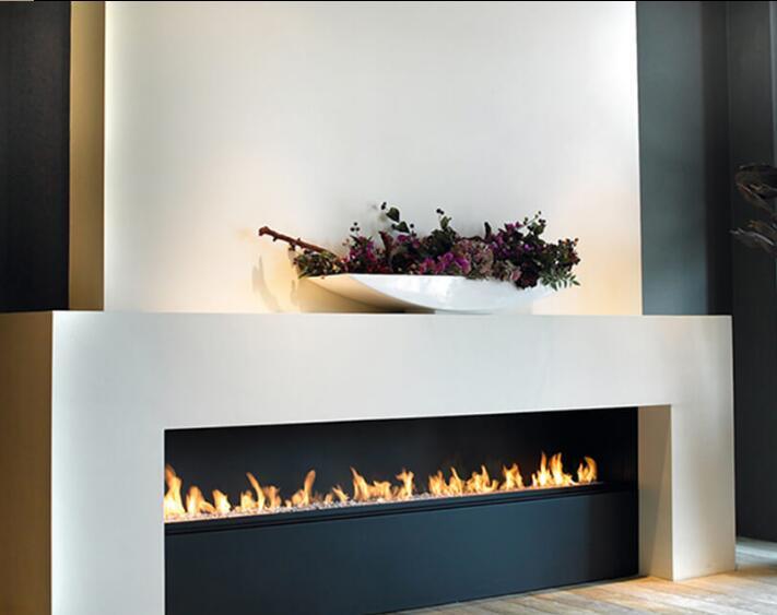 Inno Living 72 Inch  Smart Intelligent Bio Ethanol Fireplace