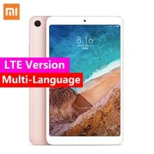"""Xiao mi mi Pad 4 OTG LTE/WiFi mi Pad 4 tablety, 8 """"PC Snapdragon 660 octa core 64G 1920x1200 13.0MP + 5.0MP Cam 4G Tablet"""