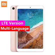 "Xiaomi mi Pad 4 OTG/LTE WiFi mi Pad 4 tabletas 8 ""PC"" Snapdragon 660 Octa Core 64G 1920x1200 13.0MP + 5.0MP Cam 4G Tablet(China)"