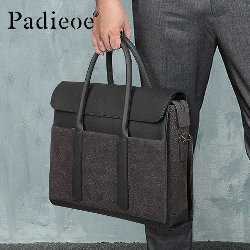 Padieoe Men Bag Briefcase  Computer Bag Messenger Handbag Purses Jobs
