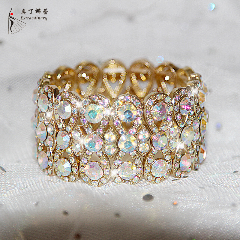 Ornements Bracelet femme adulte Bracelet strass Bracelet bras ornements