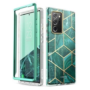 """Do Samsung Galaxy Note 20 Ultra Case 6.9 """"(2020) I-BLASON Cosmo Full-Body Glitter marmurowa osłona bez wbudowanego ochraniacza ekranu"""