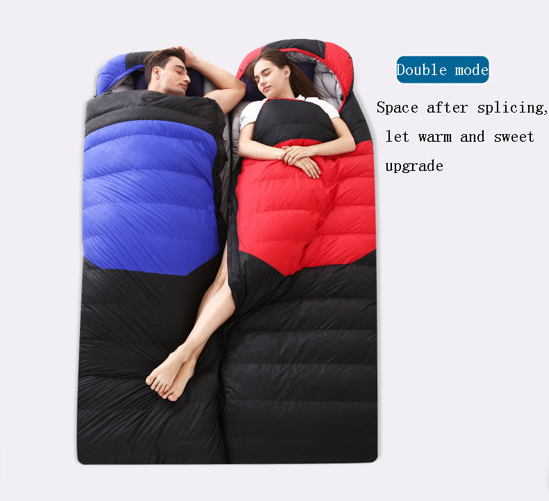 Cushion - Down sleeping bag