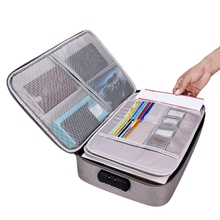 Waterproof Document Bag Organizer Papers Storage Pouch Credential Bag Diploma Storage File Pocket with Separator