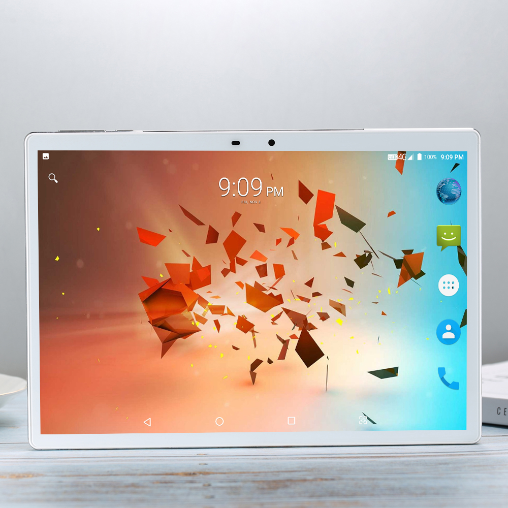 256G MID Global Bluetooth Wifi Phablet Android 9.0 10.1 Inch Tablet 10 Core 8GB RAM 256GB ROM Dual SIM Cards Tablet X20 4G LTE