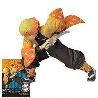 Anime Agatsuma Zenitsu Figur Dämon Slayer Action-figuren Kimetsu Keine Yaiba Sammlung Dekoration Zenitsu Figurine PVC Modell Spielzeug