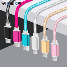 USB Type C Cable 3A Fast Charging Data Cord Usb-C Charger For Samsung S10 S9 S8 Xiaomi MI 8 Redmi Note 7 Type-C
