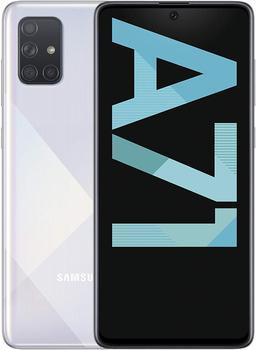 Teléfono Samsung Galaxy A71, Color Azul Blanco Negro, 128 GB de Memoria...
