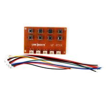 все цены на Eight-channel Electronic Remote Control Board with Terminal Wire to Control 4 Motors Forward and Reverse 634F онлайн