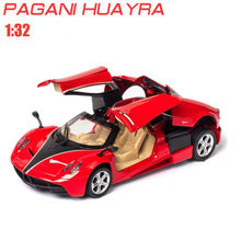 1:32 Toy Car Pagani HUA YRA Metal Toy Alloy Car Diecasts & Toy Vehicles Car Model Miniature Scale Model Car Toys For Children