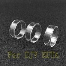 Ring-Gasket Atomizer Vape Djv Rdta Dejavu Glass-Tube Vapor Tank-Seal Pyrex Electronic-Cigarettes-Replacement