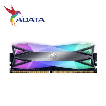 ADATA XPG DDR4 D60G RGB 16GB (2x8GB) 3200 MHz PC4-25600 U-DIMM pamięć stacjonarna CL16 2x dwukanałowy 3200 MHz 3600mhz tanie i dobre opinie HIKVISION Pulpit NON-ECC 16-18-18-38 240pin Dożywotnia Gwarancja 1 35 V 3200MHz