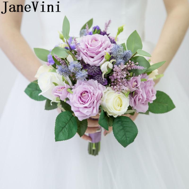 Bouquet Rose Sposa.Janevini Fiori Sposa Purple Boquet Wedding Bouquet Accessories