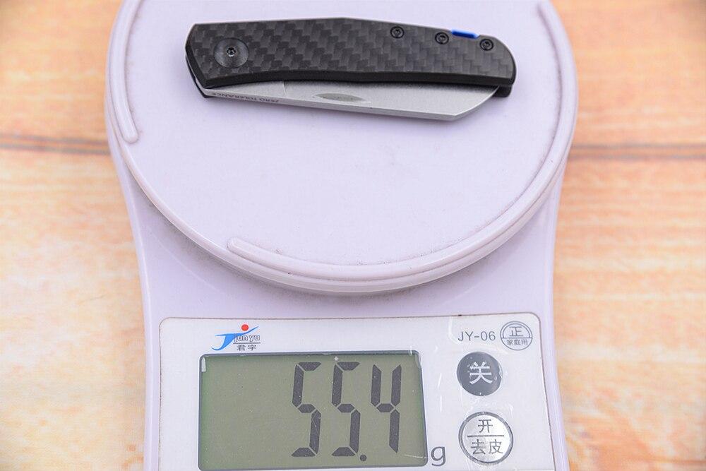 20CV Pocket Tool Knife Slip Folding ZeroTolerance Fibre Camping Joint JUFULE Mark EDC  Kitchen 0230 Carbon 0235 Survival Outdoor