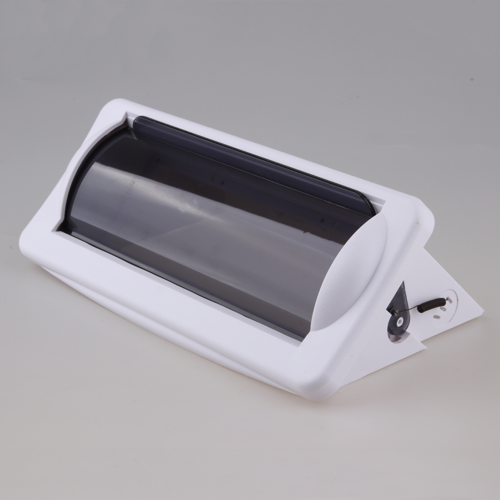 Water-Resistant Marine Boat Car Radio Shield Waterproof Cover White Stereo