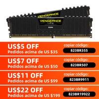 CORSAIR Vengeance-memoria RAM LPX de 4GB, 8GB, 16GB, 32GB, DDR4, PC4, 2400Mhz, 2666Mhz, 3000Mhz, módulo de PC de escritorio, memoria RAM DIMM