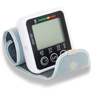 Image 5 - English Voice Digital Cuff Wrist Blood Pressure Monitor Sphygmomanometer Medical Equipment Health Care Measurement LCD Display
