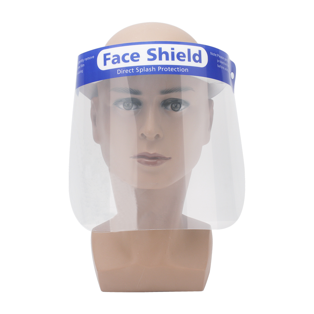 Creative Protective Face Shield Kitchen Oil-Splash Proof Mask Transparent  Protection Mask 2019