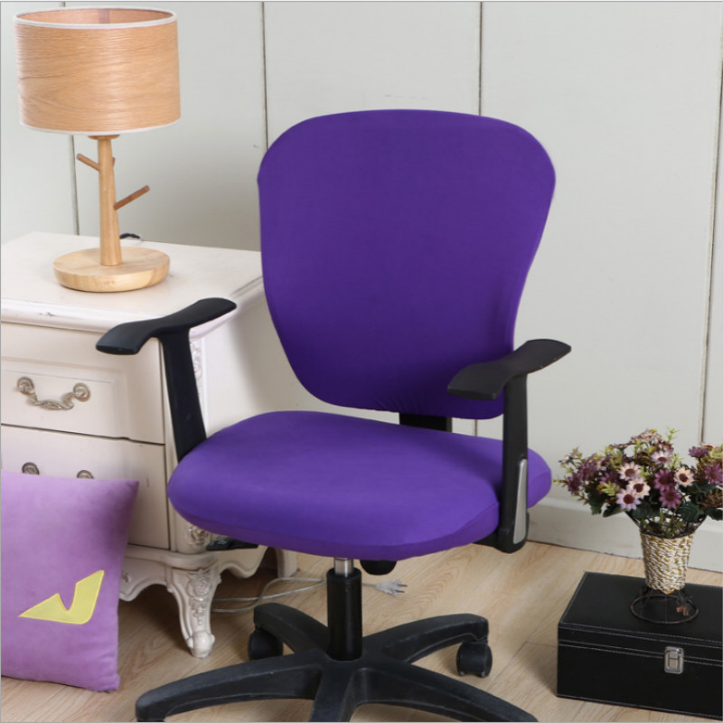 Office Stretch Spandex Chair Covers Anti dirty Computer Seat Chair Cover Removable Slipcovers For Office Seat