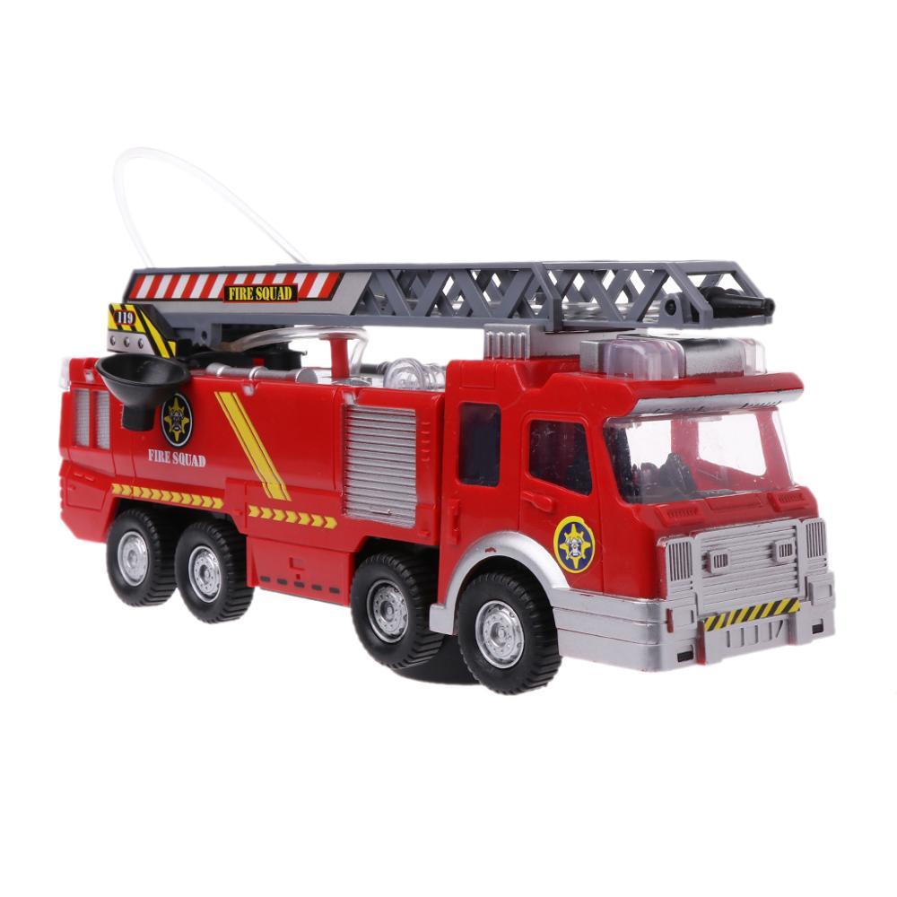 Spray agua camión juguete bombero camión de bomberos música Luz Juguetes Educativos niño niños juguete regalo Cojín para cuello en forma de U con diseño de Animal de zorro de algodón, almohada de viaje para el coche o la casa, almohada en forma de U con dibujos animados para viajes en avión