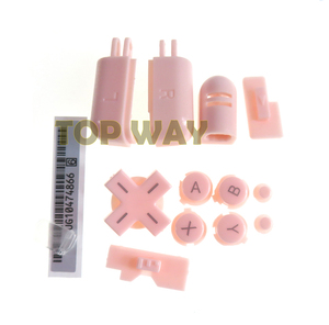 Image 2 - 1set Replacement ABXY L R D Pad Cross Button Full Button Set For Nintend DS Lite For NDSL Console Buttons Kit