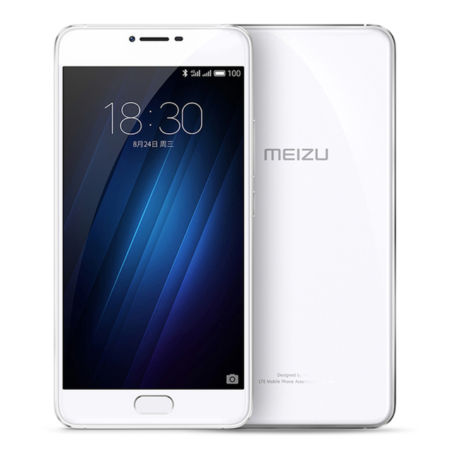Original MEIZU U20 Telecom version ROM 3GB RAM 16GB ROM Cell Phone 5.5 inch octa-core Fast Charging Mobile Phone 3