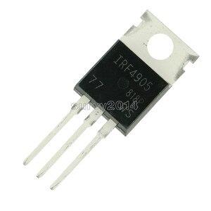 Image 4 - 10pcs IRF4905PBF TO220 IRF4905 כדי 220 IRF4905P כוח MOSFET חדש ומקורי