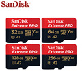 SanDisk Speicher Karte Extreme Pro Micro SD Karte 256GB 128GB 64GB U3 V30 TF Karte Bis Zu 170 MB/s Flash Karte 32GB für Kamera Drone