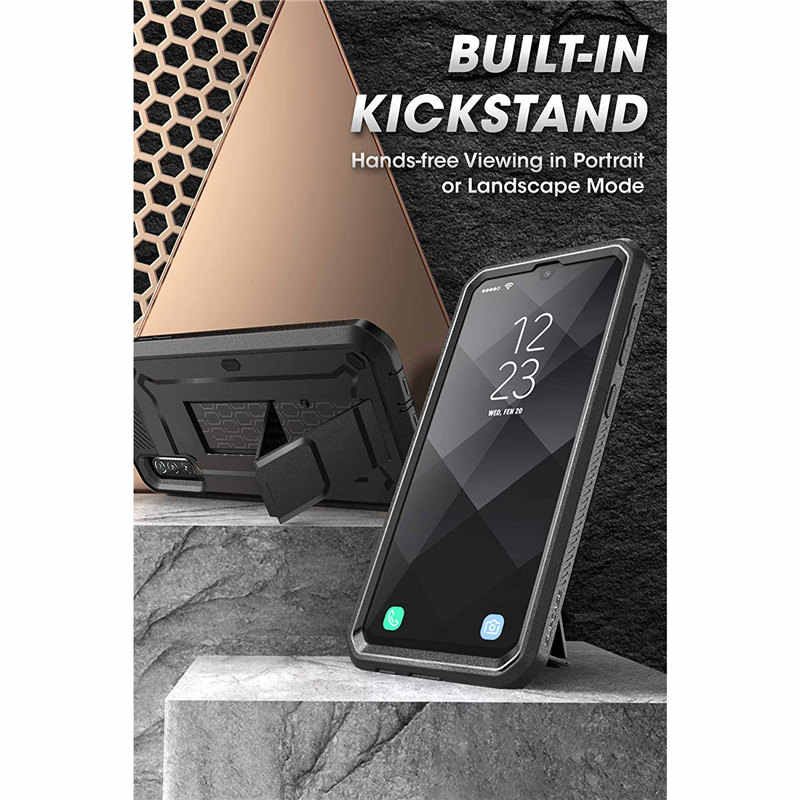 Für Samsung Galaxy A50 Fall (2019 Release) SUPCASE UB Pro Full-Körper Robuste Holster Fall mit Integrierten Bildschirm Protector & Ständer