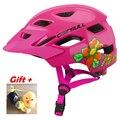 Милый мультяшный безопасный велосипедный шлем для мальчиков и девочек  детский спортивный защитный шлем высокой плотности  задний фонарь  ...