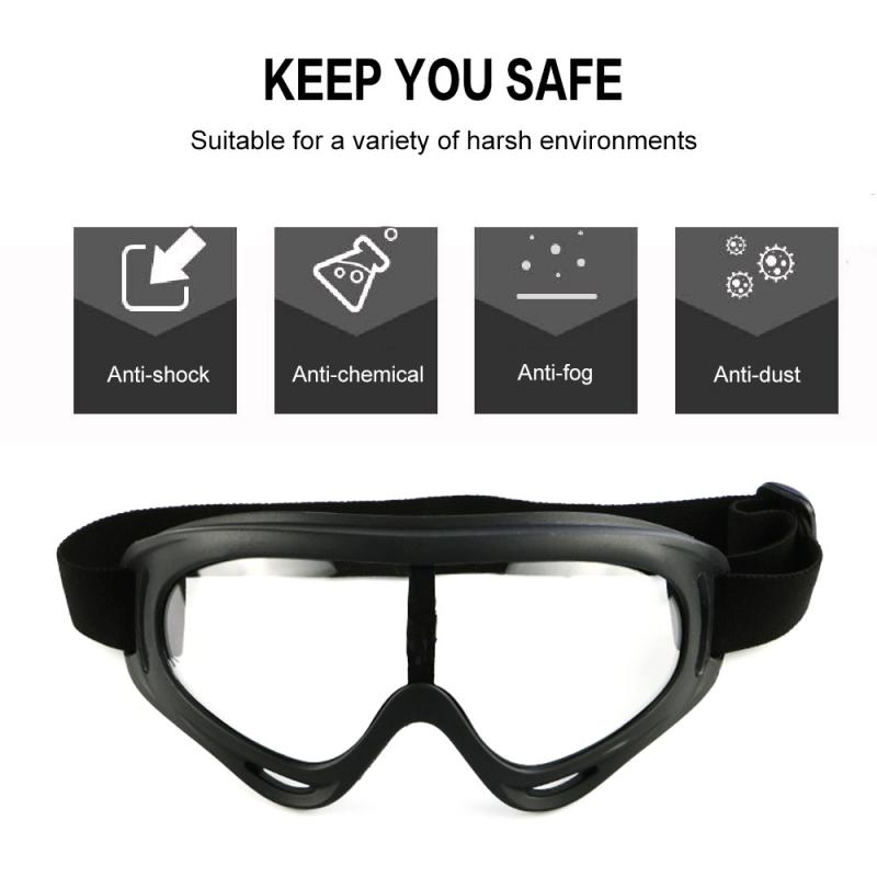 Safety Eye Protection Glasses Eyewear Dust-Proof Anti-fog Anti-splash Fully Sealed Sand-proof Wind-proof Goggles Hot Sale 2020