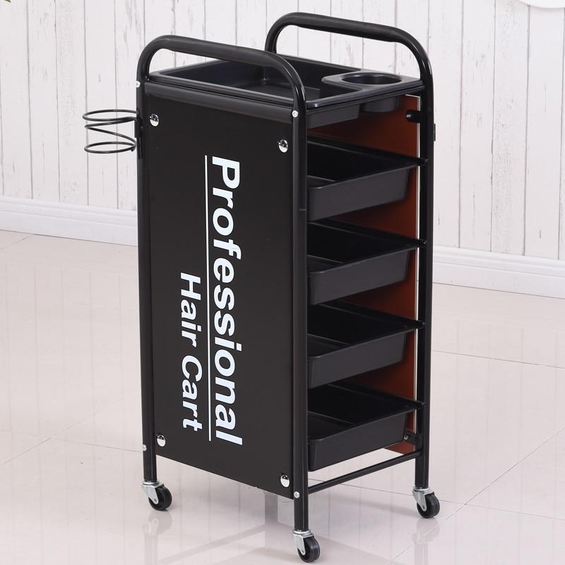 Retro Beauty Cart, Beauty Bar Cart, Small Cart, Barber Shop Cart, Ironing And Dyeing Tool Cart, Hair Salon