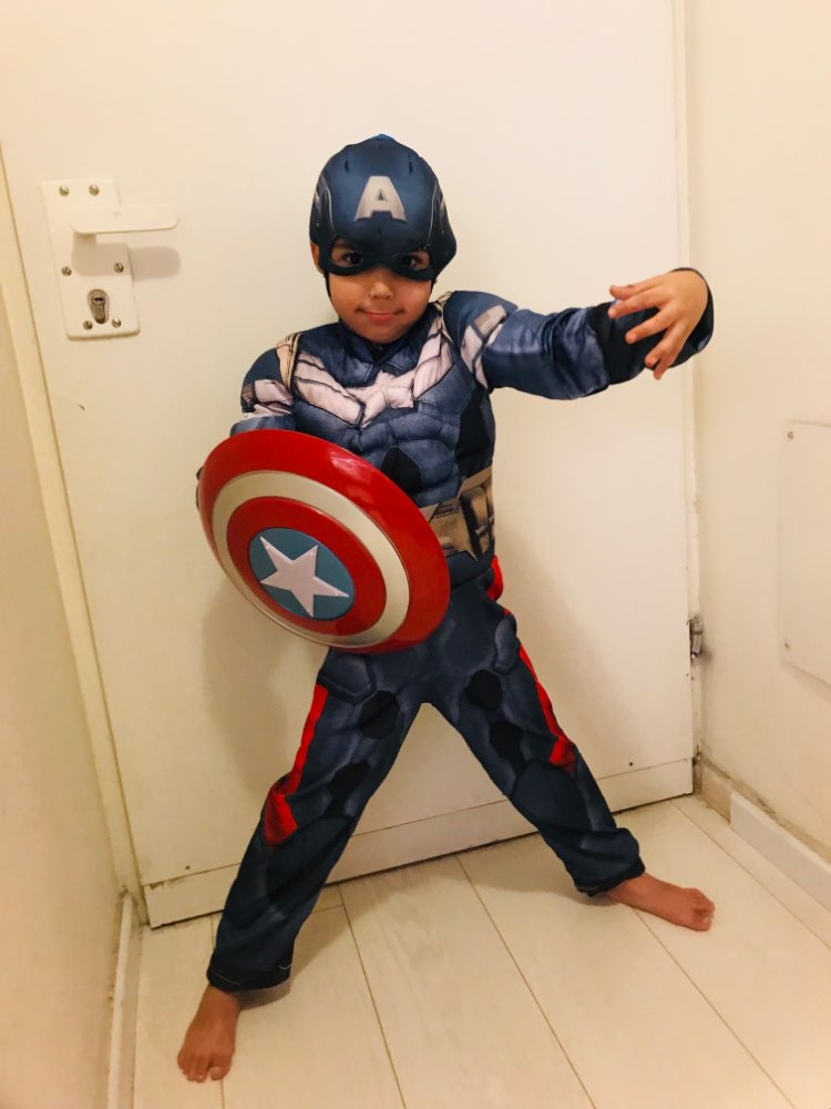 Multiple Sizes Available Captain America Civil War Child Boy/'s Costume