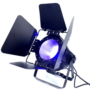 LED reflektor sceniczny Par 200W COB RGBWA UV 5in 1 RGBW 4in 1 RGB 3in 1 ciepły biały zimny biały UV LED Par Par64 reflektory Led światła dj-skie tanie i dobre opinie HAIMAITONG Rohs CN (pochodzenie) cob -w RGBWA UV 6in1 COB casting aluminum shell DMX512 Master Slave Sound Active and Work