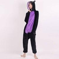 Minnie Mous Kigurumi Costumes Men women Hooded animal cartoon Winter Cat Jumpsuit panda Onesies dinosaur pajamas Cosplay