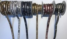 Hotfix cobra falso couro diamante cristal fita aparar 1 jarda/lote 12mm largura strass corrente applique banding para acessórios