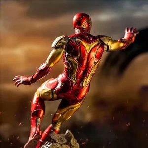 Image 2 - 10.4 นิ้ว 26 ซม.ใหม่ภาพยนตร์ Avengers Endgame Iron Man MK50 หน้าเปลี่ยนรูปปั้น PVC Action FIGURE Collection Gift