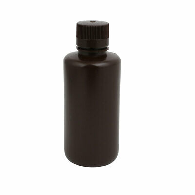 500ml HDPE Plastic Chemical Laboratory Sealling Reagent Sample Bottle Brown