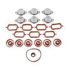 Ap03 kit de reparação redemoinho flaps kit coletor entrada 6*32mm para bmw diesel m57 x3 x5 3 5 5 '11617790198