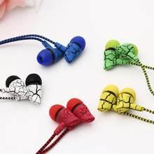 Słuchawki przewodowe douszne 3.5mm w ucho słuchawki douszne słuchawka z mikrofonem zestaw słuchawkowy stereo 5 kolor dla Samsung