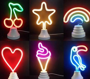 multicolor Led Night Light room Lamp For Kids Children Gift Party Home Room Decor