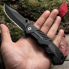 Venda quente! Bolso afiada lâmina fixa faca dobrável tático caça acampamento sobrevivência faca com bainha