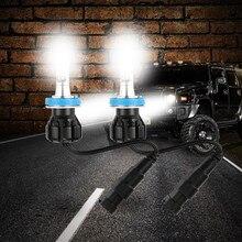 Противотуманный светильник s, ходовой светильник, лампы для автомобилей, 2 шт., H8/H11, 24 Вт, 12 В, светодиодный сменный головной/противотуманный/DRL светильник, автомобильные аксессуары# Ger