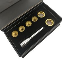 Латунные инструменты Профессиональная труба мундштук 4 головки