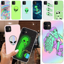OFFeier UFO Cover Black Soft Shell Phone Case For iPhone 5C 5 5S SE 7 8 plus X XS XR XS MAX 11 11 pro 11 Pro Max offeier canyon view cover black soft shell phone case for iphone 5c 6 6s 7 8 plus x xs xr xs max 11 11 pro 11 pro max