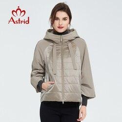 Астрид 2020 весеннее пальто для женщин, верхняя одежда тренд куртка короткие парки повседневные модные женские туфли высокого качества теплы...