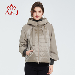 Astrid 2020 Spring coat women Outwear trend Jacket Short Parkas casual fashion female high quality Warm Thin Cotton ZM-8601