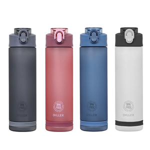 Sport Water Bottle With Straw,